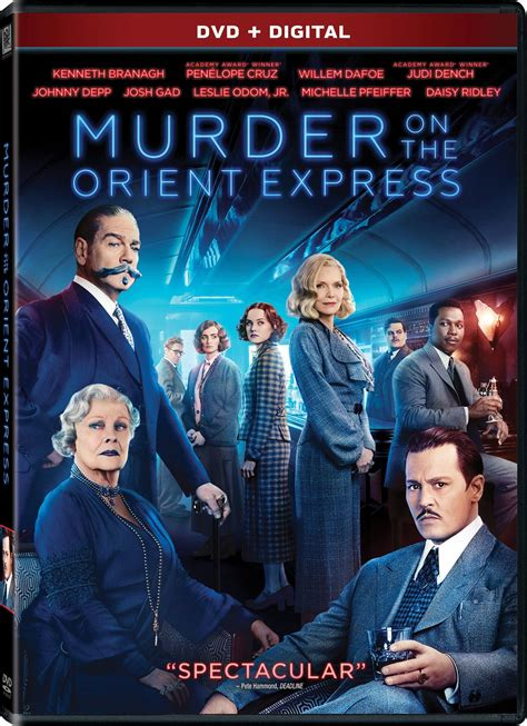 amc movies murder on the orient express by kenneth branagh murder on the orient express dvd release date february 27 2018