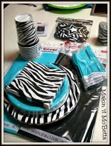 Zebra Print Decorations Makin It Mo Betta Miss Two Turns 10 Pinterest Style