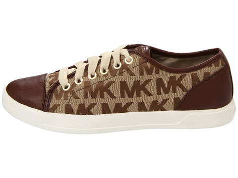 Comfortable Work Shoes For Standing All Day Michael Michael Kors Mk City Sneaker In Brown Lyst