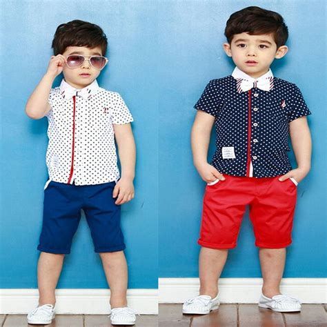 8 Pieces For A Preppy Look by Child Preppy Style Twinset Summer Baby Boy S