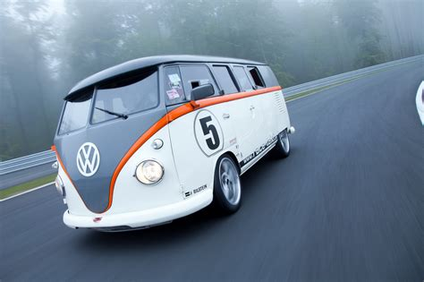 volkswagen porsche vw t1 race taxi with 530ps air cooled porsche 993 engine
