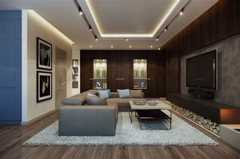 One Bedroom Apartment Layout by 10 Contemporary Homes Open Plan Layouts