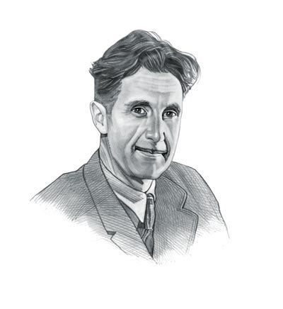 george orwell quick biography george orwell interesting facts for kids