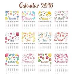 Calendar 2018 Wallpaper 2018 Year Calendar Wallpaper Free 2018 Calendar