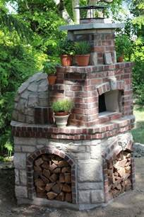 39 quot precast wood fired burning pizza oven incl hearth