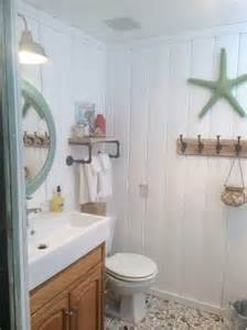 Blue Bathtub Remodel Beach Cottage Decor Ideas For Your Mobile Home