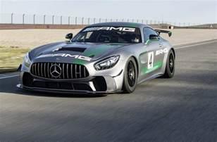 Mercedes Racing Mercedes Amg Reveals Gt4 Race Car