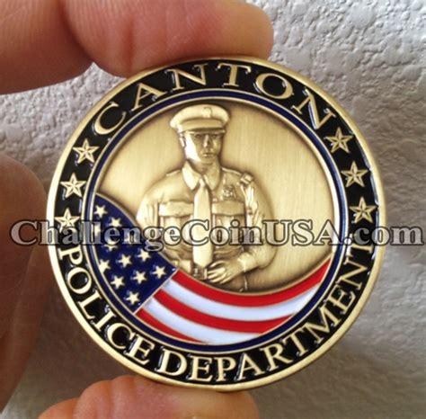 department challenge coins challengecoinusa canton department challenge coin