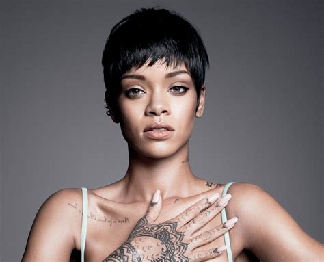 rhianna tattoo wallpaper rihanna vogue hd 2630