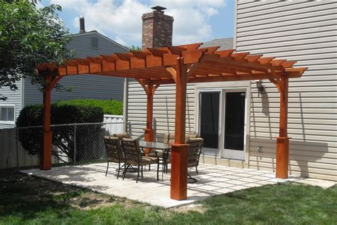 Backyard Pergola Ideas Triyae Pergola Backyard Ideas Various Design Inspiration For Backyard