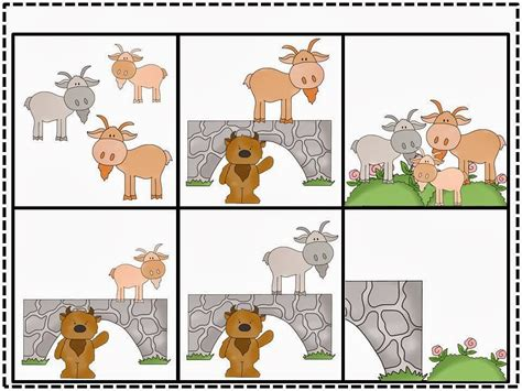 3 Billy Goats Gruff Sequencing Worksheet by The Fabulous Grade Peek At My Week And A