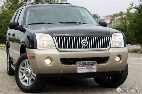 2010 mercury mountaineer heated leather trimmed front seats batucars find used 2005 mercury mountaineer luxury awd 3rd seat leather sunroof heated seats loaded in