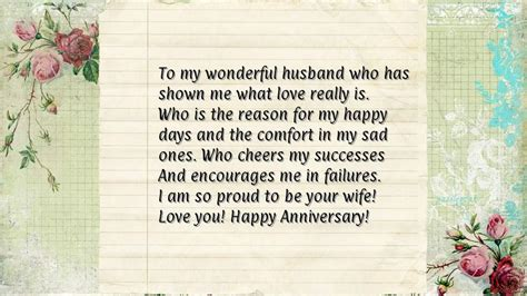 wedding anniversary letter to my husband anniversary letter to husband levelings