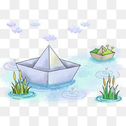 cartoon paper boat paper boat png images vectors and psd files free