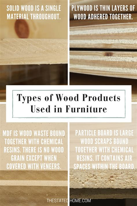 Types Of Wood Furniture by The Best Wood For Furniture The Stated Home