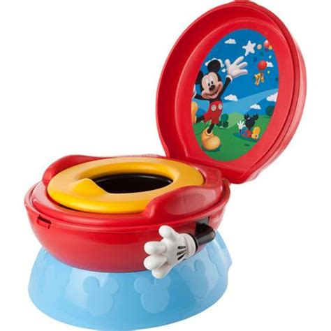 Mickey Mouse Potty Chair by The Years Disney Baby Mickey Mouse 3 In 1 Celebration Potty System Walmart