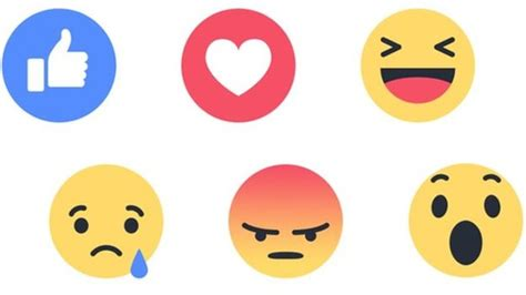 fb emoticon will you like facebook s new reactions bbc news