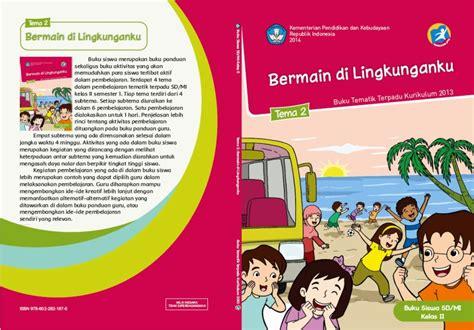 Buku Sd Tematik Kelas 2 Tema 3 Diknas Revisi 2017 kurikulum 2013 the knownledge