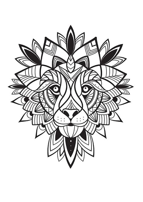 une f 233 e et un lion 224 colorier cr 233 apassions