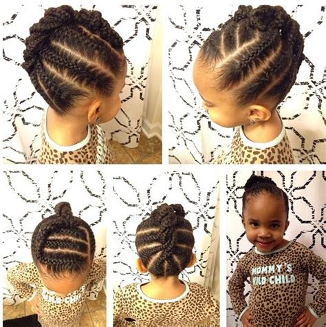 easy ethinic braid styles on natural hair 17 best images about african princess little black girl
