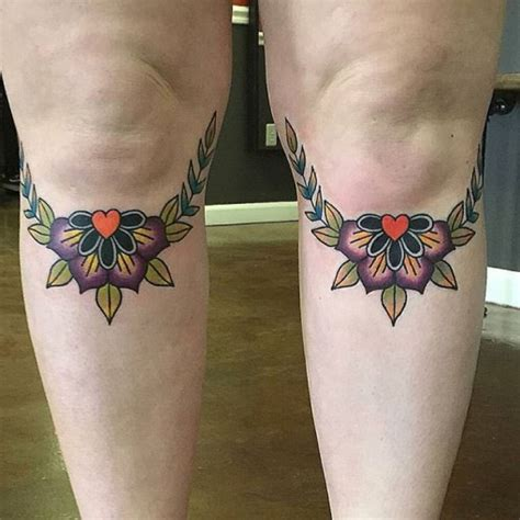 knee tattoo designs knee tattoos for best ideas gallery