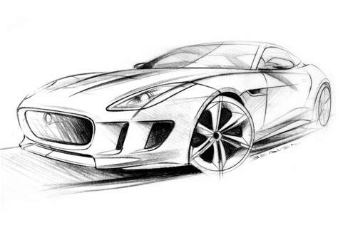 C Sketches by Exclusive Jaguar C X16 Design Sketches Pictures Evo