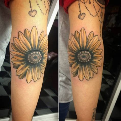 flower tattoo inside elbow flower tattoo on elbow best tattoo ideas gallery