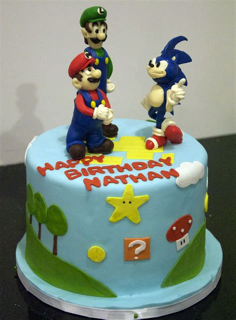 bc super mario birthday cake flickr photo sharing