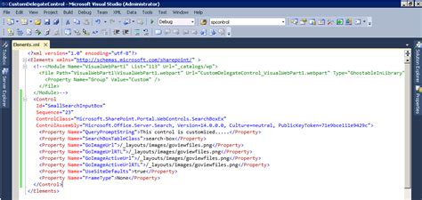 sharepoint page layout elements xml understanding sharepoint delegate control