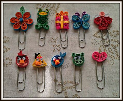Paper Quilling Crafts For - trupti s craft paper quilling bookmarks