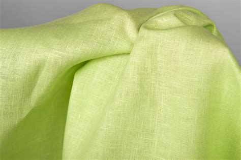 light green linen fabric linen fabric in lime green colour for bed linen curtains