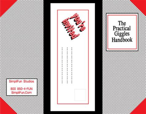 printable practical jokes printable party invitations children s practical giggles