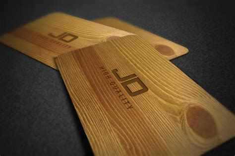 rs card template business card template wood rk rs 187 designtube creative