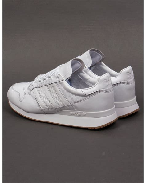 Adidas Zx 500 Og White Original 100 adidas zx 500 og leather trainers white white originals shoes mens