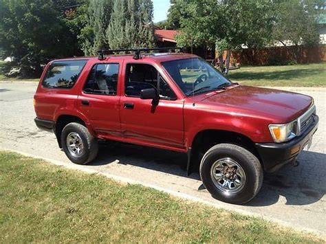 Toyota 4runner Diesel Find Used 1990 Toyota 4runner Diesel In Sandpoint Idaho