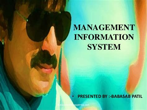 Mba In Information Systems In Michigan by Management Information System Mis Mba Ppt