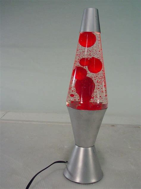 red lava lamps lighting  ceiling fans