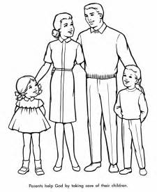 family coloring pages coloring pages of a family coloring home
