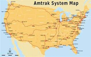 Map Of Amtrak Routes by List Of Amtrak Routes Wikipedia