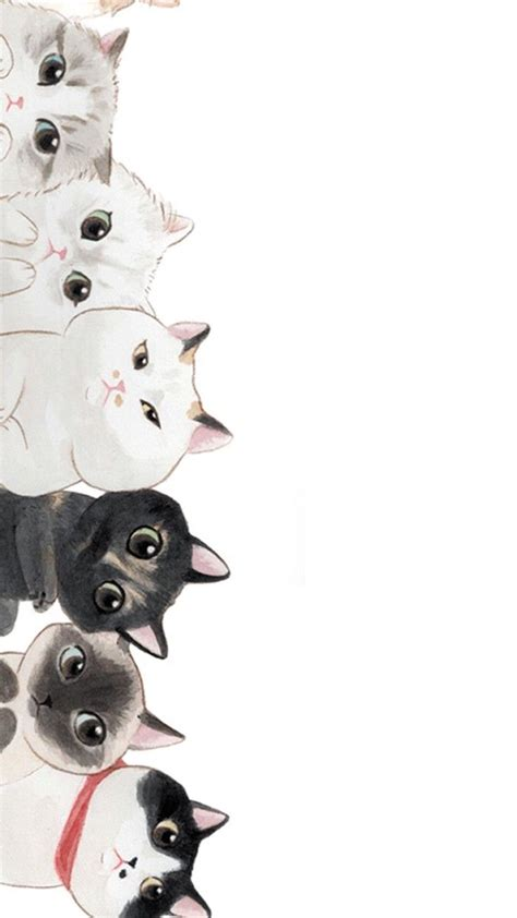 wallpaper cats kawaii 420 best ipad iphone wallpaper images on pinterest