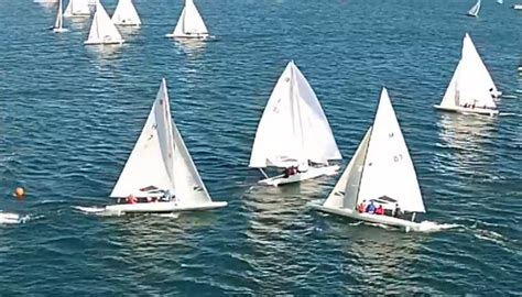 e scow sailing video epic collision at e scow nationals gt gt scuttlebutt