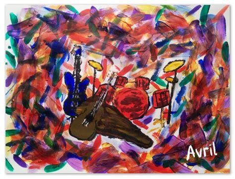 abstract  art avril godoy