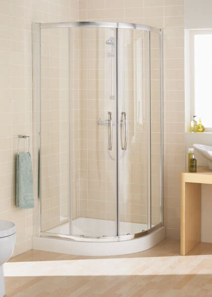 Lakes 1000 X 1000mm Single Rail Quadrant Shower Enclosure Lakes Shower Doors