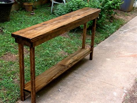 narrow sofa table rustic console table narrow sofa table entryway hallway