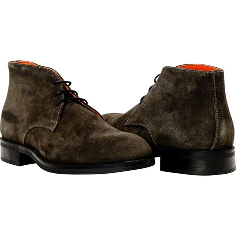 zachary ash brown suede boots paolo shoes