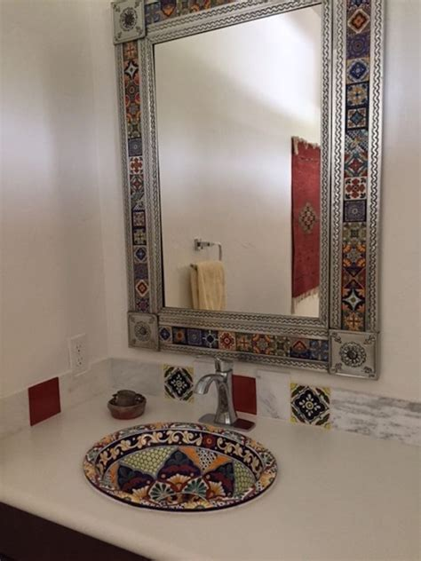 mexican bathroom vanities best 25 bathroom tile gallery ideas on white