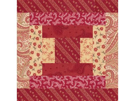 Traditional Quilt Block Patterns by Easy Courthouse Steps Quilt Block Pattern