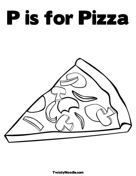 coloring page pizza make a pizza coloring page coloring pages