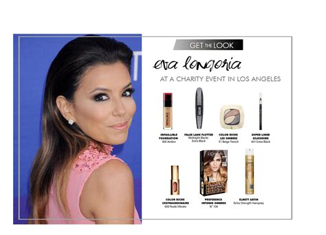 tutorial make up l oreal paris get the look eva longoria loreal makeup beauty