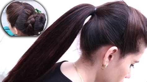 bubble hair cuts for straight hair ponytail bubble bun hairstyles hairstyles for long